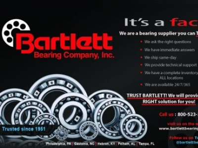 Bartlett Bearing Co., Inc. - Gastonia